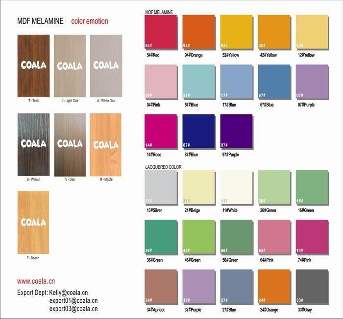 COALA color boards - color your life